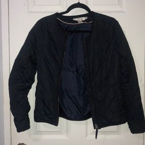 Navy spring jacket